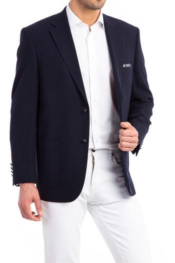 İtalyan Yün Örme Ceket