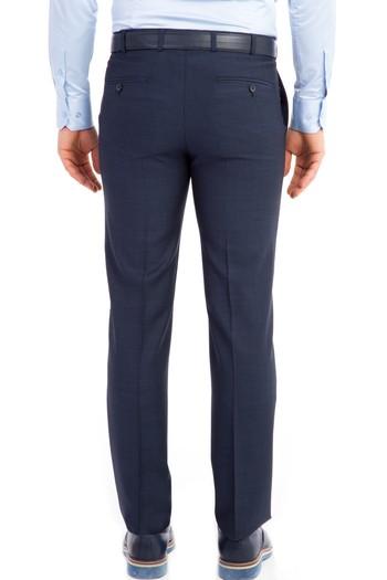 Slim Fit İtalyan Yün Kuşgözü Takım Elbise