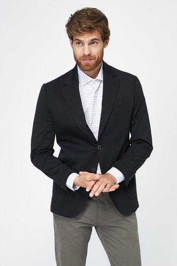 Slim Fit İtalyan Yün Takım Elbise