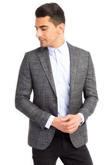İtalyan İpek Kaşmir Ceket