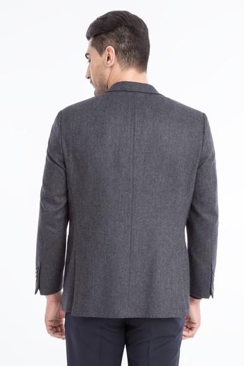 İtalyan Yün Kaşmir Ceket