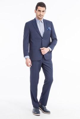 Yün İtalyan Kareli Takım Elbise