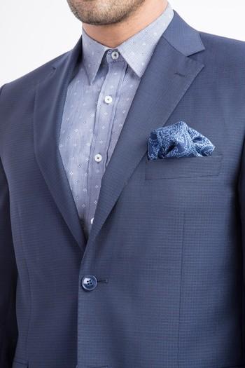 Yün İtalyan Kareli Ceket