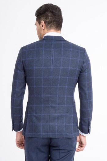 İtalyan Kareli Ceket