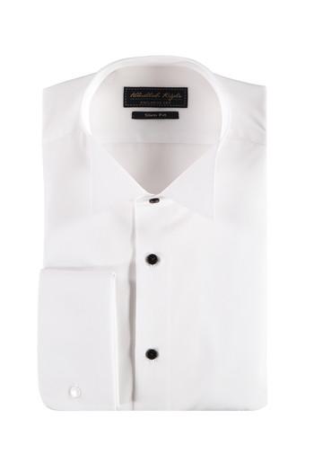 Uzun Kol Ata Yaka Slim Fit Gömlek