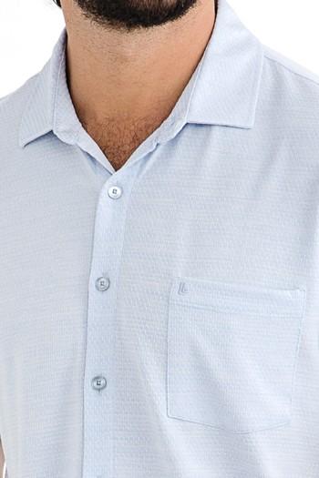 Regular Fit Desenli Süprem Polo Yaka Tişört