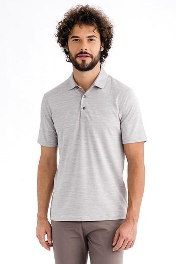Yarım İtalyan Yaka Süprem Regular Fit Tişört