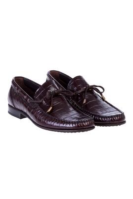 Bağcıksız Deri Ayakkabı