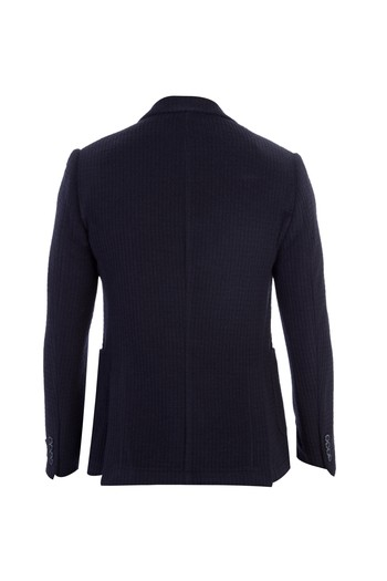 Slim Fit İtalyan Yün Ceket