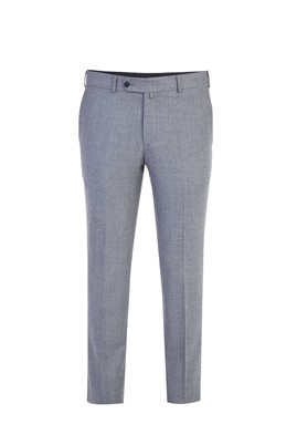 Slim Fit Yün İtalyan Flanel Pantolon