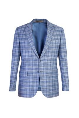 İtalyan Yünlü Ekose Ceket