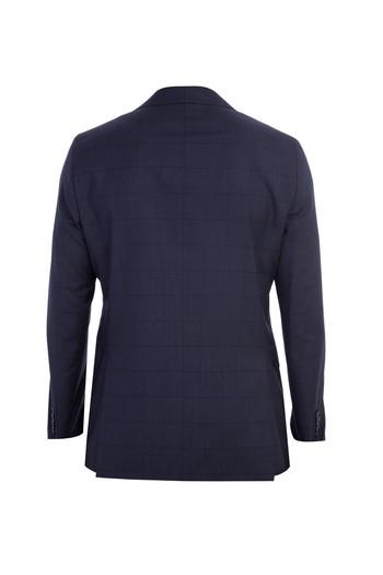 İtalyan Yün Kareli Takım Elbise