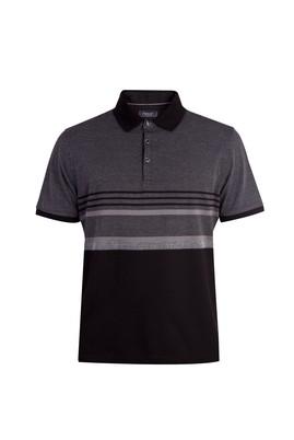 Regular Fit Çizgili Polo Yaka Tişört