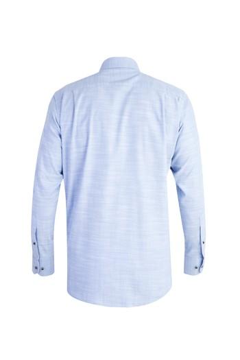 Uzun Kol Spor Desenli Gömlek