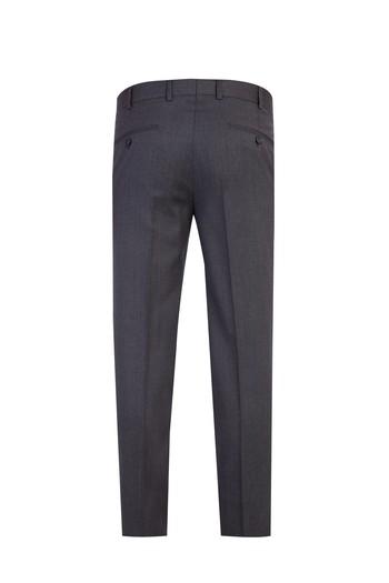 Slim Fit Yün İtalyan Çizgili Takım Elbise