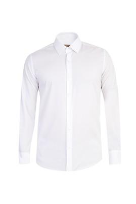 Uzun Kol Kolay Ütülenebilir Slim Fit Gömlek