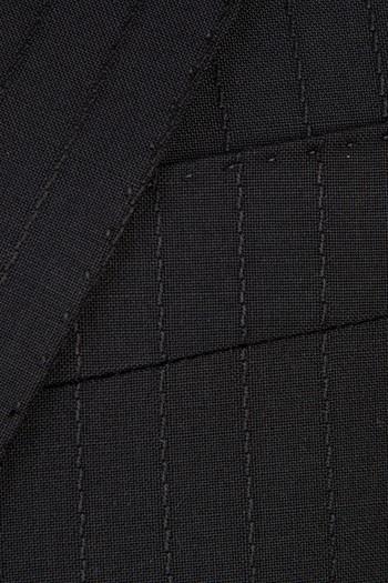 Yünlü Çizgili Takım Elbise