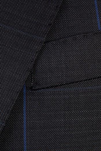 Yün Kareli Takım Elbise