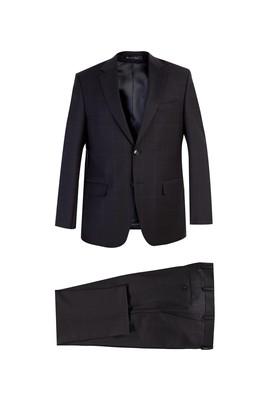 Regular Fit Kareli Yün Takım Elbise