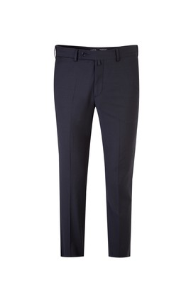 Slim Fit Kareli Klasik Pantolon