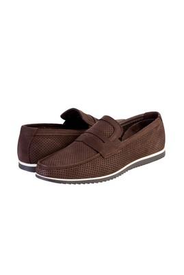 Nubuk Loafer Deri Ayakkabı