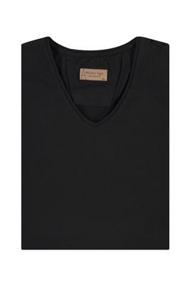 King Size V Yaka Regular Fit Tişört
