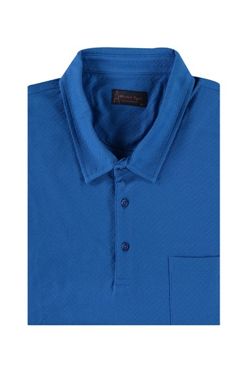King Size Polo Yaka Regular Fit Tişört