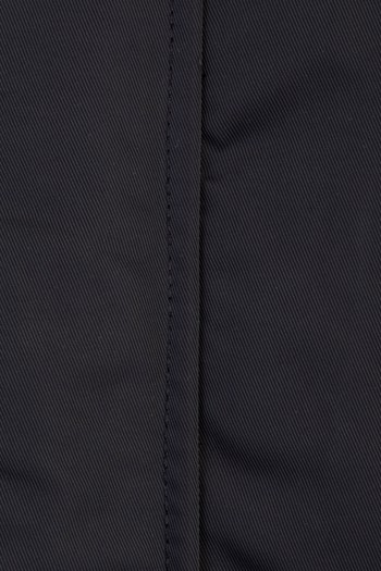 Erkek Siyah Kapüşonlu Bonded Mont Modelleri