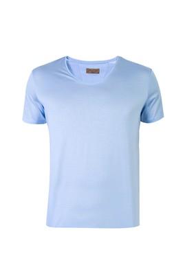 V Yaka Regular Fit Merserize Tişört