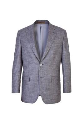 İtalyan Klasik Kaşmir Ekose Ceket