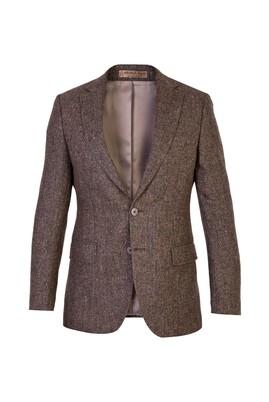 İtalyan Klasik Yün Kuşgözü Ceket
