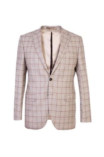 İtalyan Kaşmir Desenli Ceket