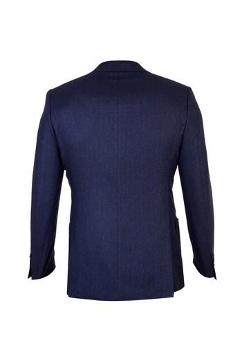 İtalyan Yünlü Klasik Desenli Ceket