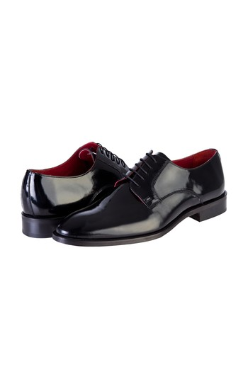 Klasik Bağcıklı Rugan Ayakkabı