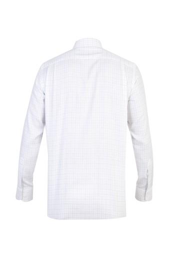 Uzun Kol Klasik Ekose Gömlek