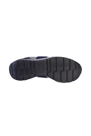 Bağcıklı Deri Sneaker Ayakkabı