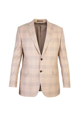 İtalyan Kaşmir Ekose Ceket