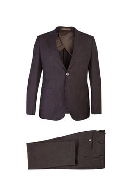 Slim Fit İtalyan Keten Takım Elbise