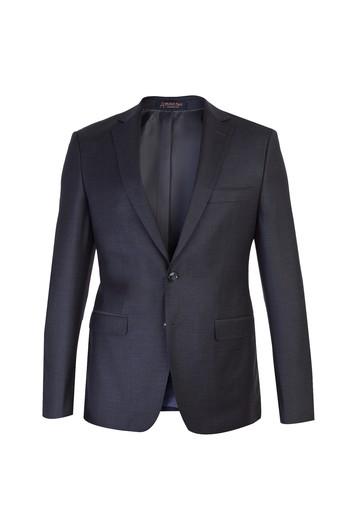 Slim Fit Yünlü Takım Elbise