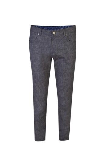 Süper Slim Fit Spor Desenli Pantolon