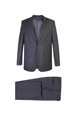 Yünlü Kombinli Takım Elbise