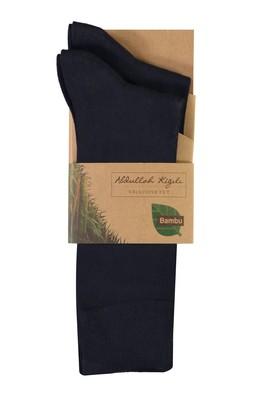 2'li Düz Bambu Çorap