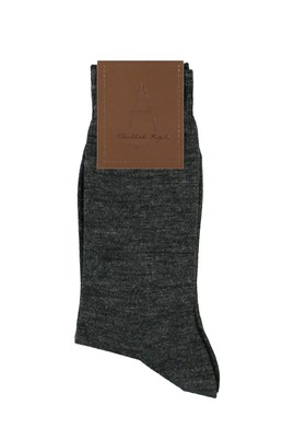 Düz Yünlü Çorap