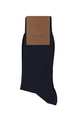 Desenli Yünlü Çorap