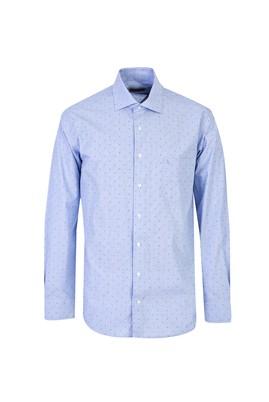Uzun Kol Non Iron Desenli Klasik Gömlek