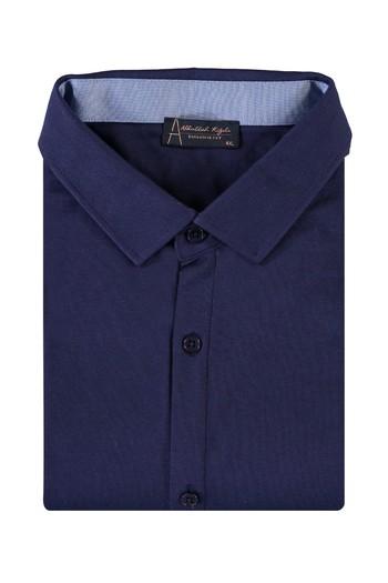 King Size Polo Yaka Gömlek Model Tişört