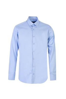 Uzun Kol Saten Klasik Gömlek