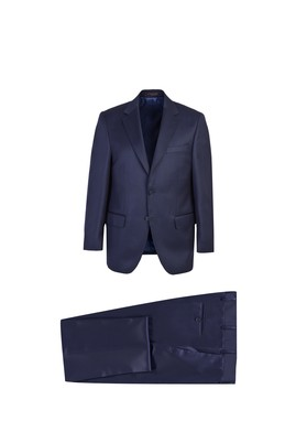 Süper Slim Fit Yünlü Takım Elbise