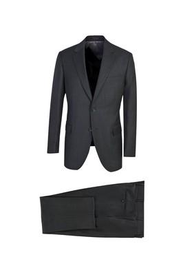 Klasik Yün Kuşgözü Takım Elbise