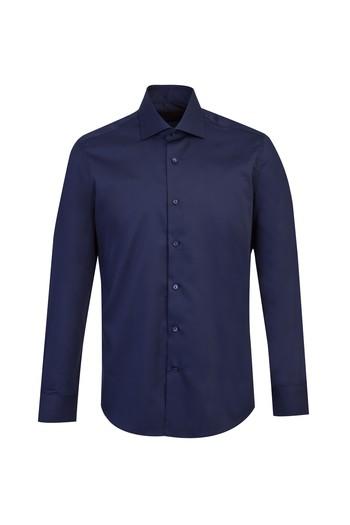 Uzun Kol Non Iron Slim Fit Saten Gömlek